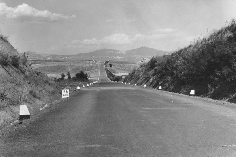 GRA di Roma, tratto tra le strade statali 1 'Aurelia' e 7 'Appia', 1951