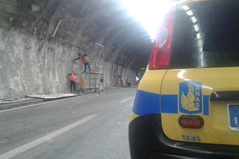 A3 Salerno-Reggio Calabria, Colle Vaccaro, tratto Morano-Frascineto