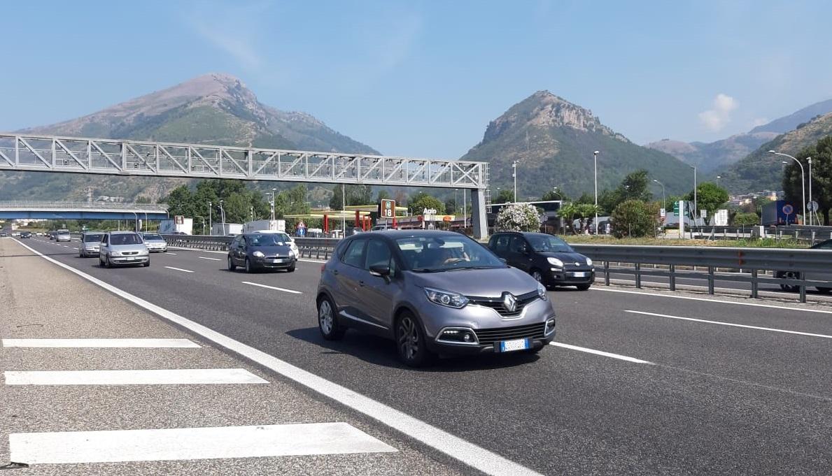 Auto in transito sulla rete Anas