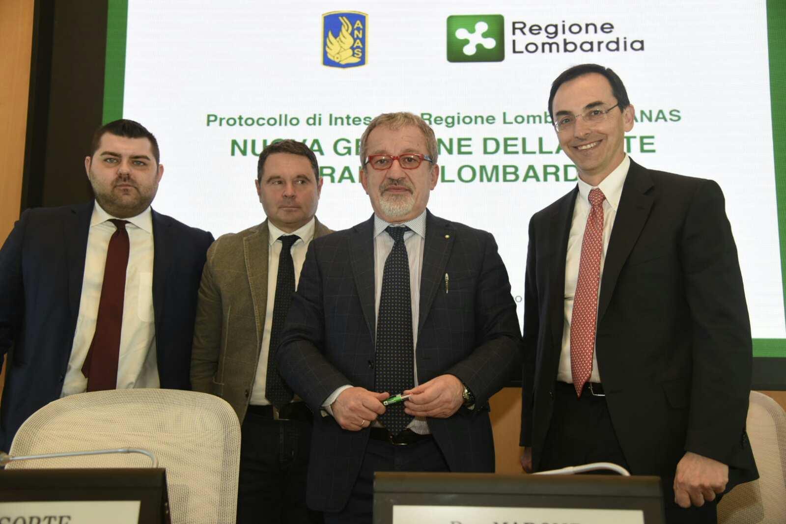 Incontro Anas - Regione Lombardia