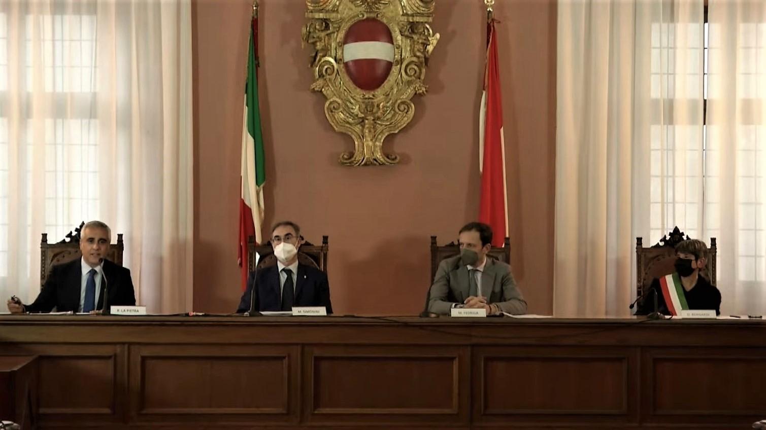 Apertura al traffico variante di Cividale del Friuli - Massimo Simonini, Massimiliano Fedriga, Daniela Bernardi
