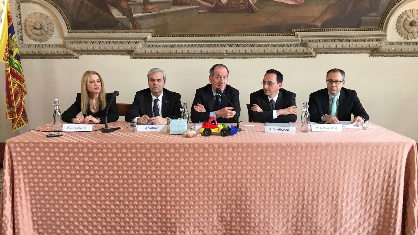 Foto 1 - Consegna dei lavori di completamento Tangenziale di Vicenza