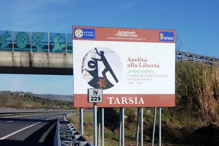 Foto targa Tarsia