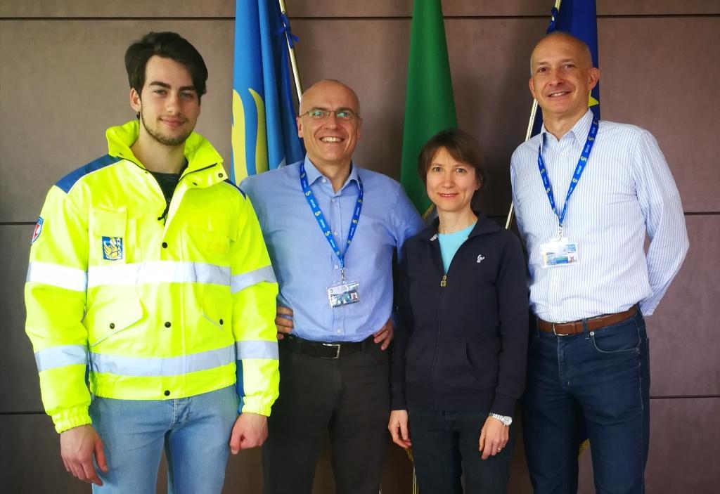Il team Anas che parteciperà a Milano Marathon 2019