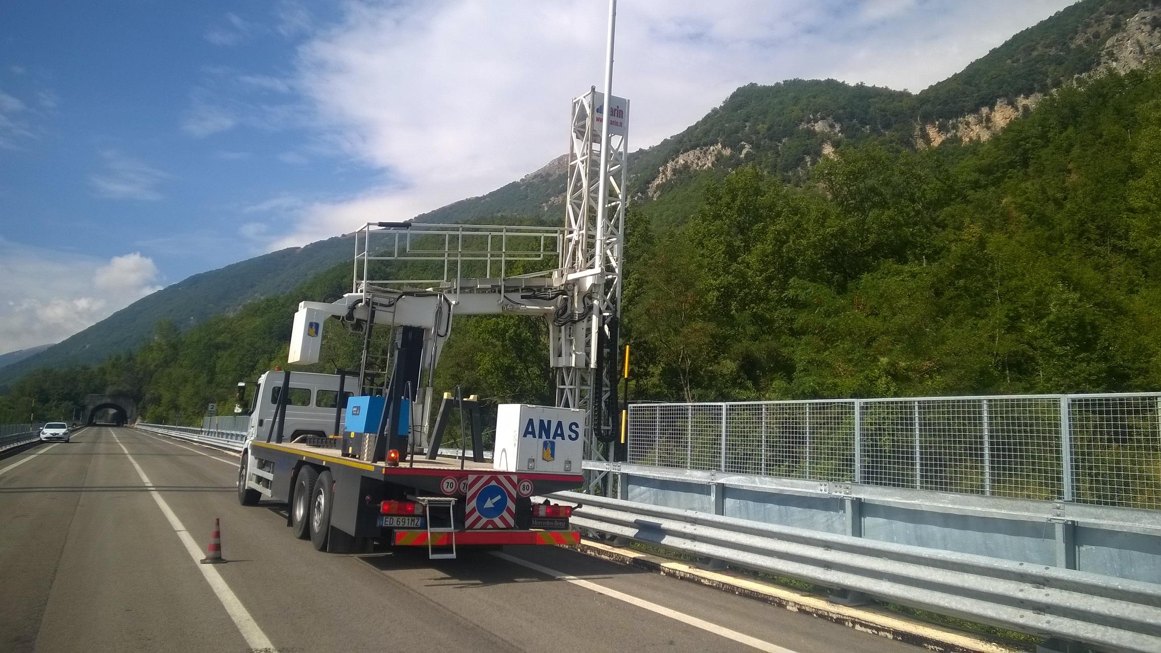 Anas- verifiche techiniche post sisma con by bridge