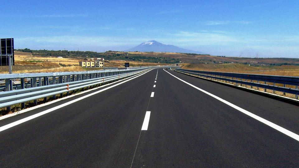 Immagine dell'autostrada Catania-Siracusa