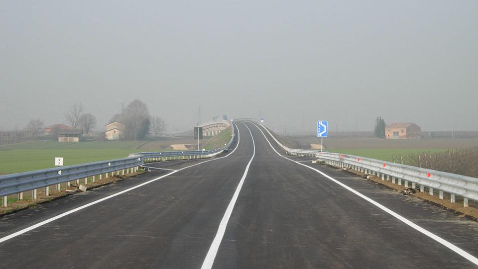 Immagine della strada statale 16 Adriatica, variante di Alfonsine