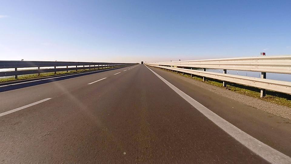 Immagine della E55, strada statale 309 Romea presso Chioggia