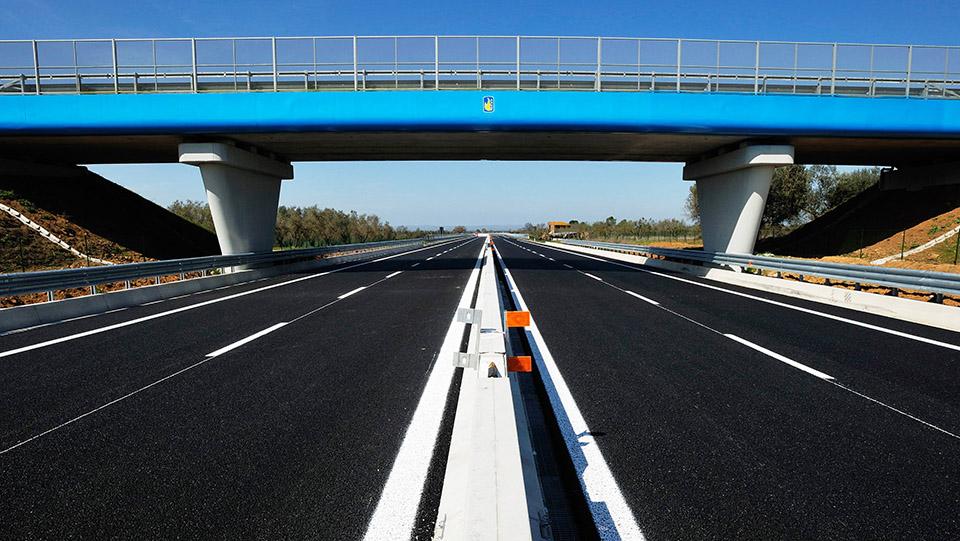 Immagine della strada statale 675 Umbro-Laziale tratto Vetralla-Cinelli