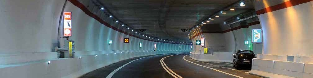 Picture of a road tunnel