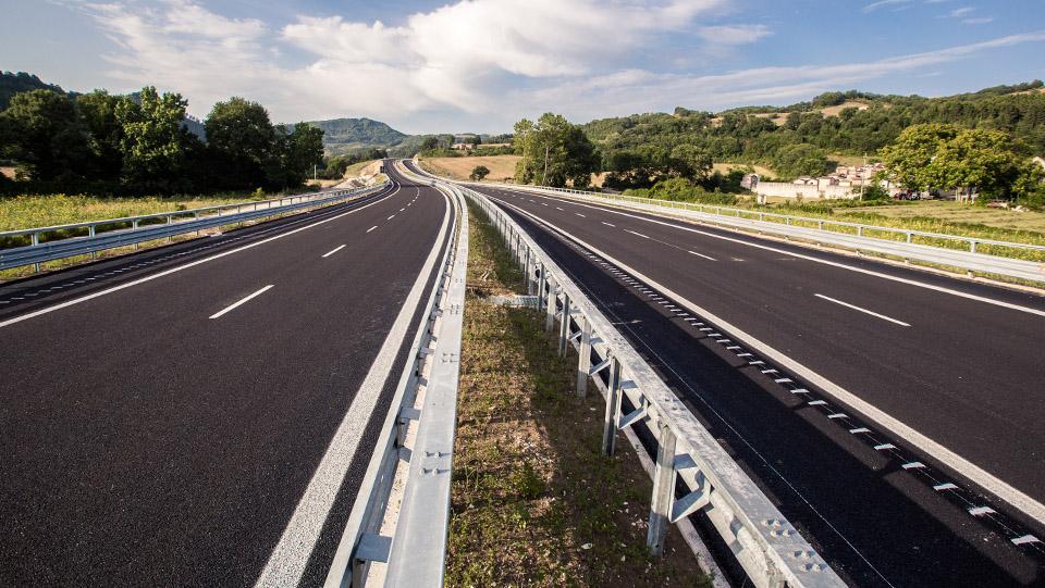 Immagine della strada statale 318 di Valfabbirca