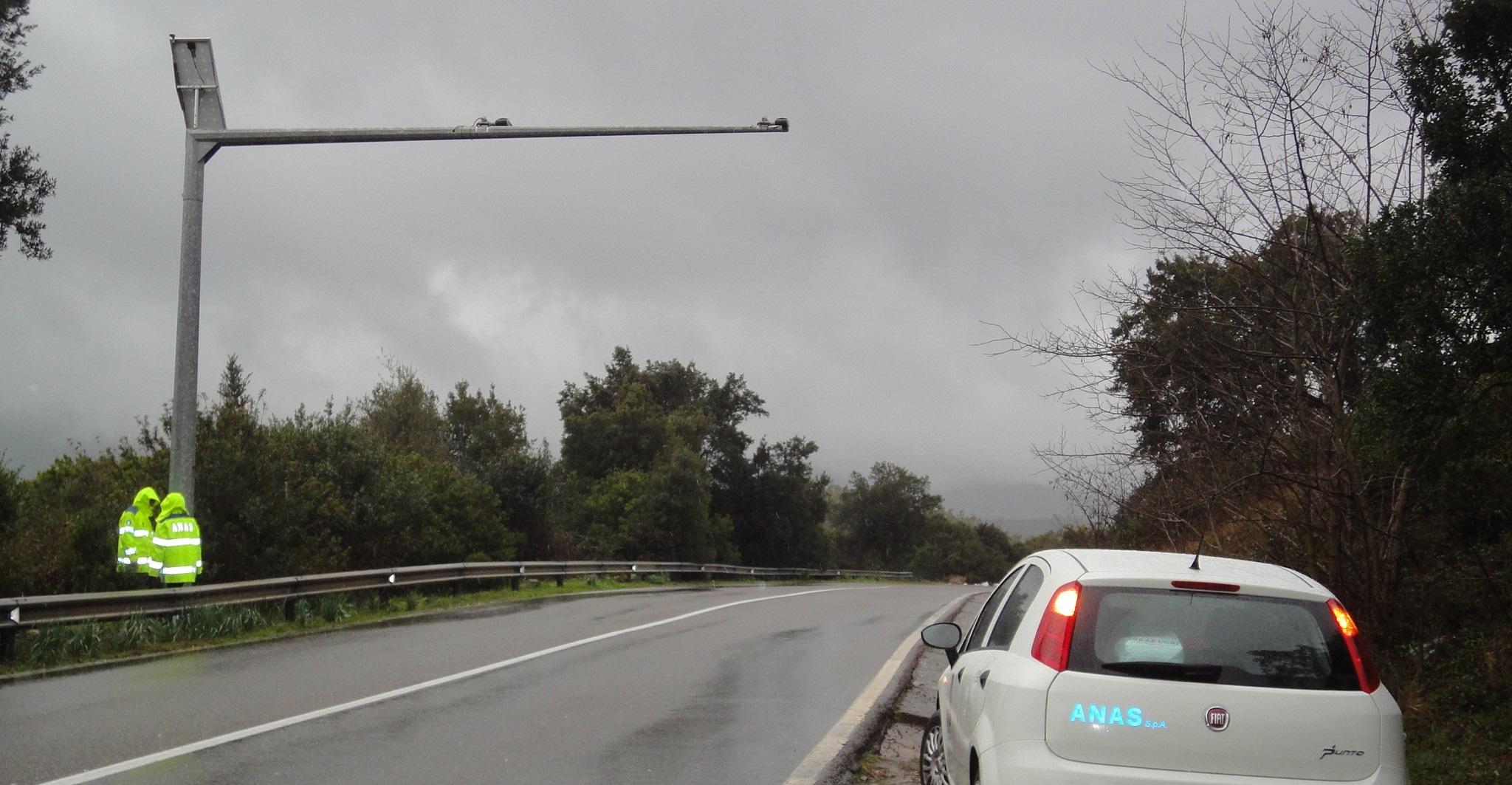 Immagine di sensori di traffico Anas