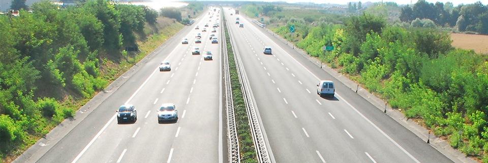 Immagine di un tratto autostradale Anas
