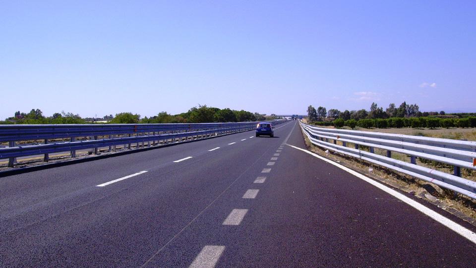 Immagine della strada statale 106 Jonica, tratto in Basilicata