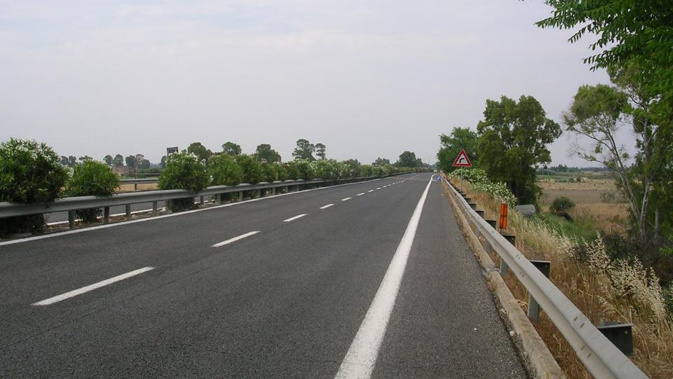 Immagine della strada statale 106 Jonica, tratto pugliese