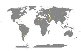 Immagine di un planisfero