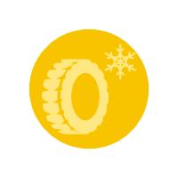 Icona comunicati pneumatici invernali