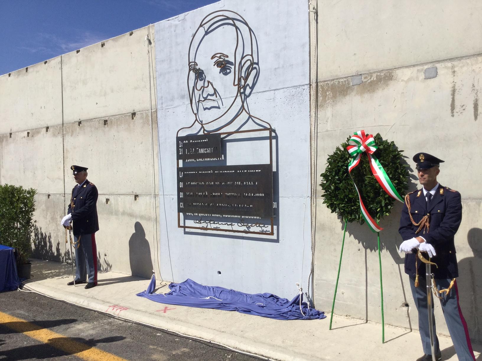 Monumento commemorativo giudice Antonino Saetta