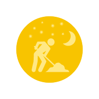 Icona comunicati lavori notturni