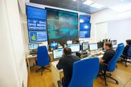 Immagine di una sala operativa Anas
