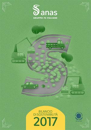 Copertina Bilancio di sostenibilità 2017 - Apri il pdf