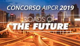 Banner concorso AIPCR 2019 roads of the future - naviga al sito esterno aipcr.it