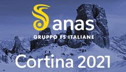 Banner Anas gruppo fs italiane cortina 2021 - naviga al sito esterno anaspercortina2021.it