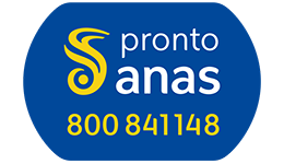 Pronto Anas banner telephone 800841148 brings to our website's Contact Us page