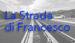 Strada di Francesco banner brings to external website stradadifrancesco.it