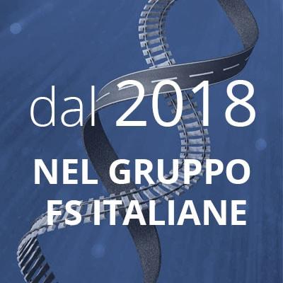 Dal 2018 nel gruppo FS Italiane - naviga alla pagina identità-e-missione