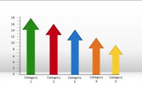 Immagine di un grafico raffigurante dati economici