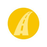 Icone comunicati strade