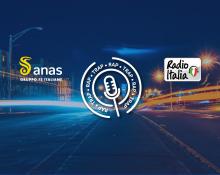 Banner del contest musicale di Anas e Radio Italia