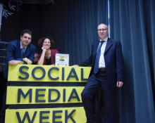 Foto della Social Media Week