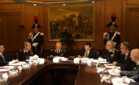 Firma Carabinieri-Anas