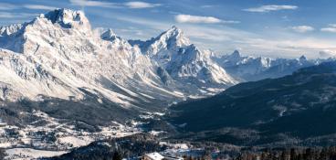 Paesaggio di Cortina
