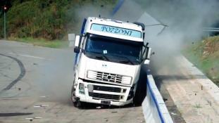 crash test barriera Anas
