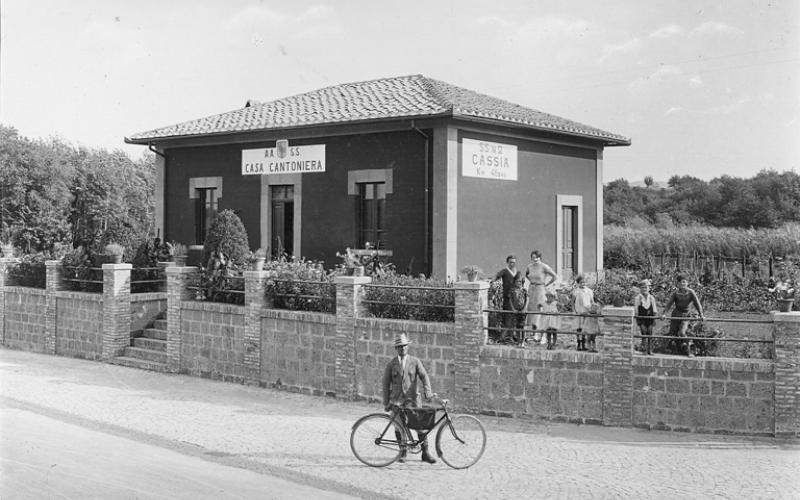 Immagine della strada statale 2 via Cassia