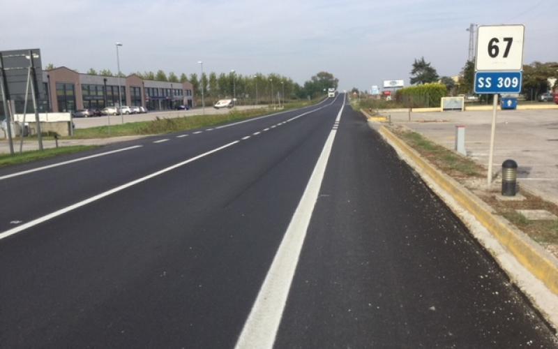 Immagine Itinerario E55 - SS309 Romea km 67
