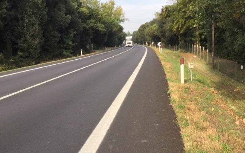 Immagine Itinerario E55 - SS309 Romea km 78