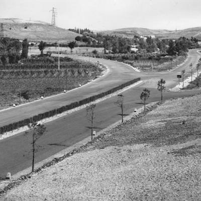 GRA di Roma, tratto in corrispondenza dell'innesto con la strada statale 1 'Aurelia', 1951
