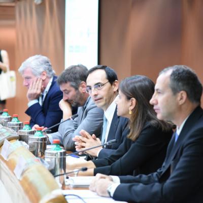 Presentazione Piano industriale Anas 2016-2020, tavolo dei relatori