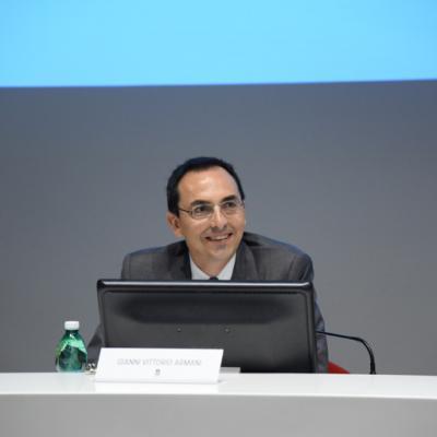 Presentazione bando Case cantoniere, Il Presidente Anas, Gianni Vittorio Armani