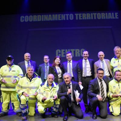 Cantoniere 2017 - Premiazione Coordinamento Territoriale Centro