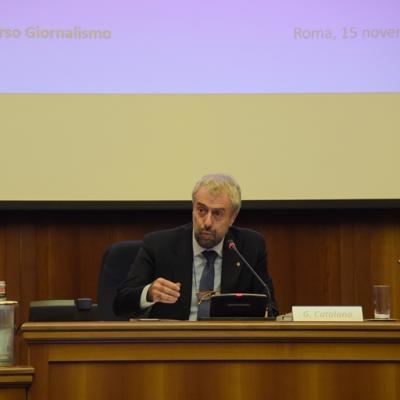 """Corso di specializzazione per giornalisti  """"Connettere Italia"""" – Giuseppe Catalano"""