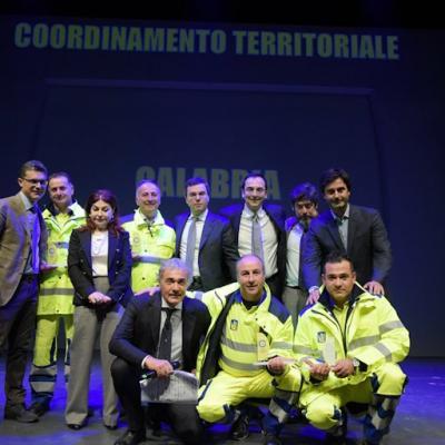 Cantoniere 2017 - Premiazione Coordinamento Territoriale Calabria