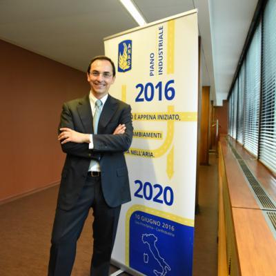 Presentazione Piano industriale Anas 2016-2020, il Presidente Anas, Gianni Vittorio Armani