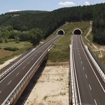 Itinerario Foligno-Civitanova Marche, nuova strada statale 77 - Viadotto Palude e Galleria Palude