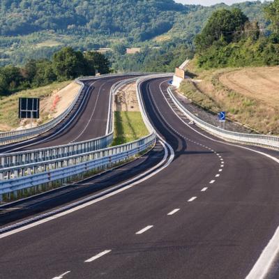 Itinerario Perugia-Ancona, nuova strada statale 318 - Corpo stradale direzione Ancona