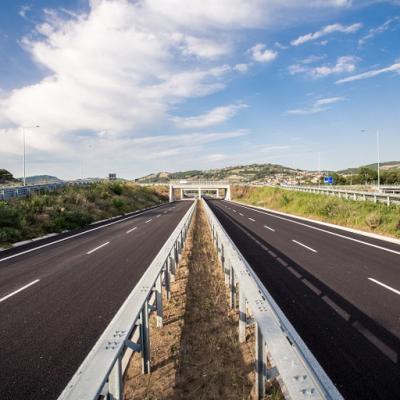 Itinerario Perugia-Ancona, nuova strada statale 318 - Svincolo di Valfabbrica, direzione Ancona